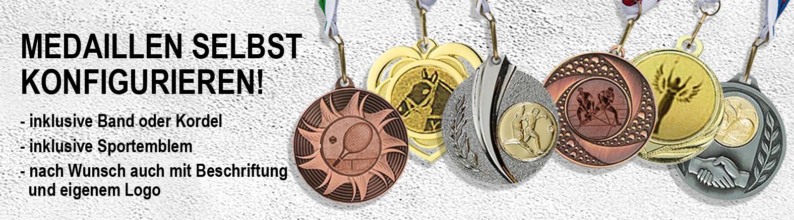 Medaillen und Pokale kaufen Pokalshop Medaillen.de